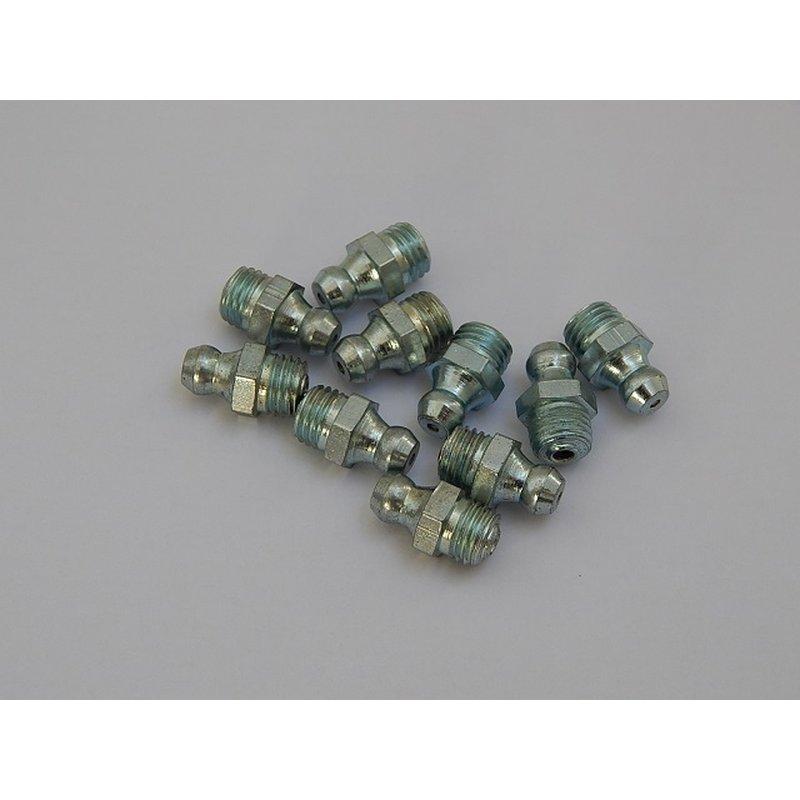 DIN 71412 A Kegelschmiernippel M10 x 1,5 10 Stück Schmiernippel Stahl